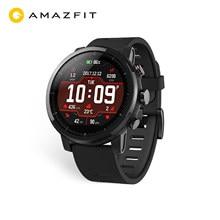 Amazfit-reloj inteligente Stratos, dispositivo resistente al agua hasta 5atm, con Bluetooth, GPS, contador de calorías para teléfono Android iOS