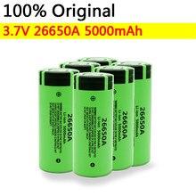 Batterie Li-ion Rechargeable, pour torche 26650A, 3.7V, 26650 mAh, 5000