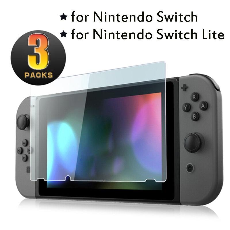 Закаленное защитное стекло для экрана Nintendo Switch NS 9H, пленка для экрана Nintendo s Switch Lite Nintendo, 3 упаковки