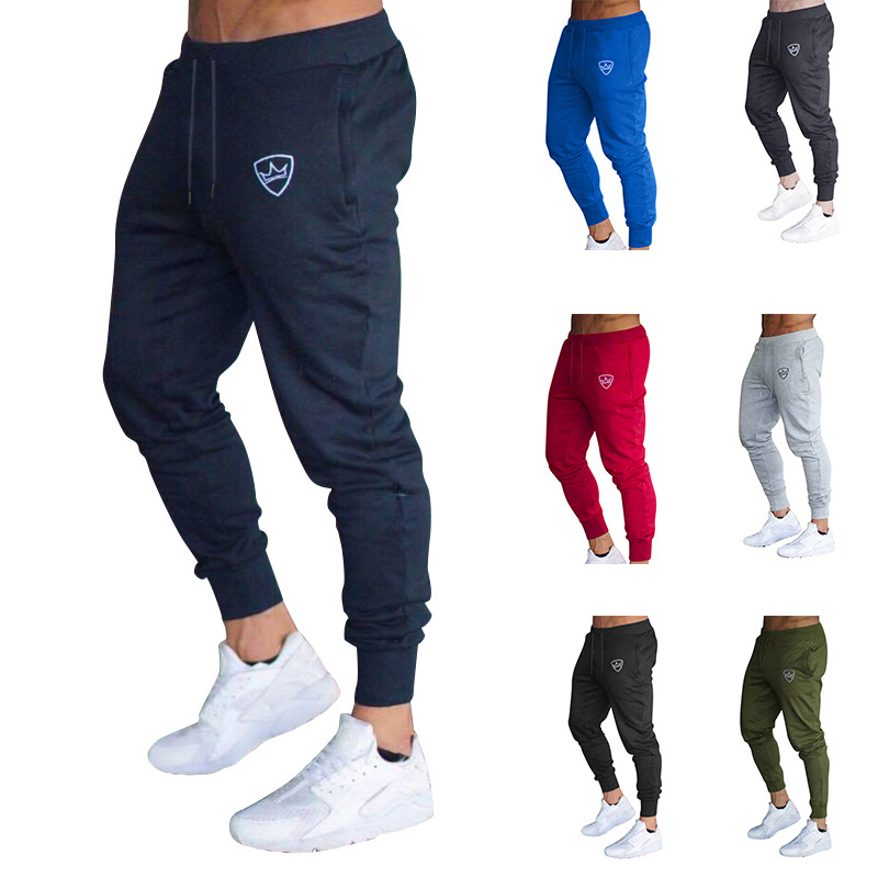 Large Size Man Gym SPORT Pants Men \'s Bodybuilding Fitnes