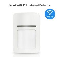 Smart Home Wifi อินฟราเรด Motion Sensor เครื่องตรวจจับ PIR ไร้สาย Pir ระบบสนับสนุน APP TUYA ความปลอดภัย Anti theft