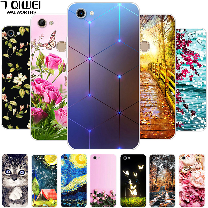 Case Cover Vivo Y81 Silicone Housing Coque Cartoon for Soft TPU Painting
