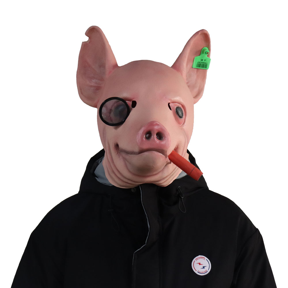 Watch Dogs 3 Legion Mask Cosplay Legion Winston Pig Head Animal Latex Masks Helmet Halloween Carnival Party Costume Props Boys Costume Accessories Aliexpress