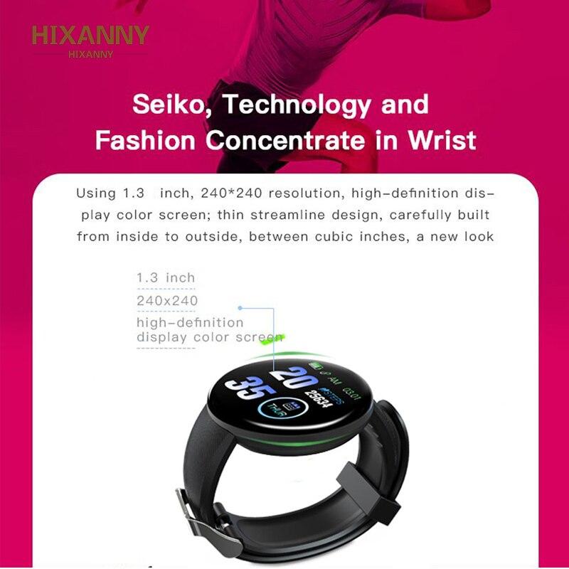 Smart Watch Men Blood Pressure Smartwatch Women Waterproof Sport Heart Rate Fitness Tracker Watches for Android IOS Smart Clock 4