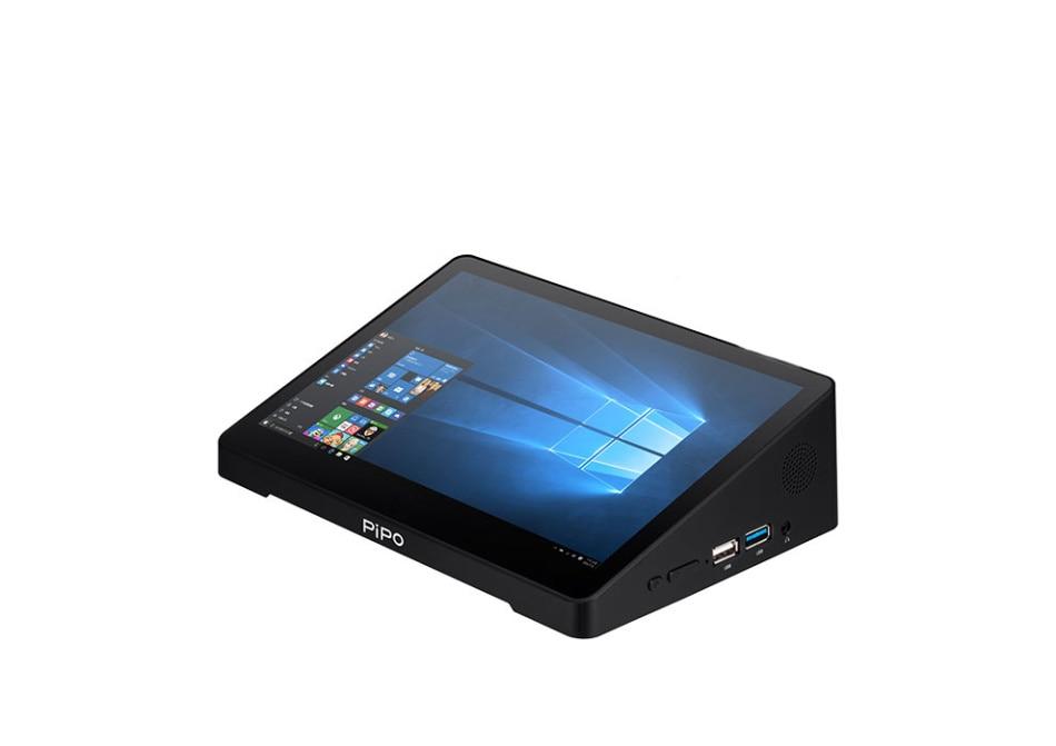 "All in One tablet Mini PC POS Terminal Win10 10.8"" Z8350 Tablet PC 4G RAM 64G ROM BT HDMI TV BOX Handwriting RS232 / 4 USB Port"