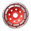 1 шт. 5 ''двухрядный бетонный  алмазный диск DIY шлифовальный диск Бетонная Стяжка шлифовальный станок