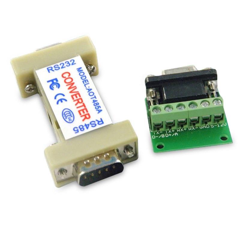 Jiju потребительская машина аксессуары конвертер 1 комплект AOT485A RS485 RS232