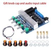 Tüketici Elektroniği'ten Operasyonel Amplifikatör Çipleri'de Ücretsiz Kargo Ses HIFI Kurulu subwoofer amplifikatör Kurulu TPA3116 2.1 Kanal Yüksek Güç Bluetooth 4.2 DC12V 24V 2*50W + 100W