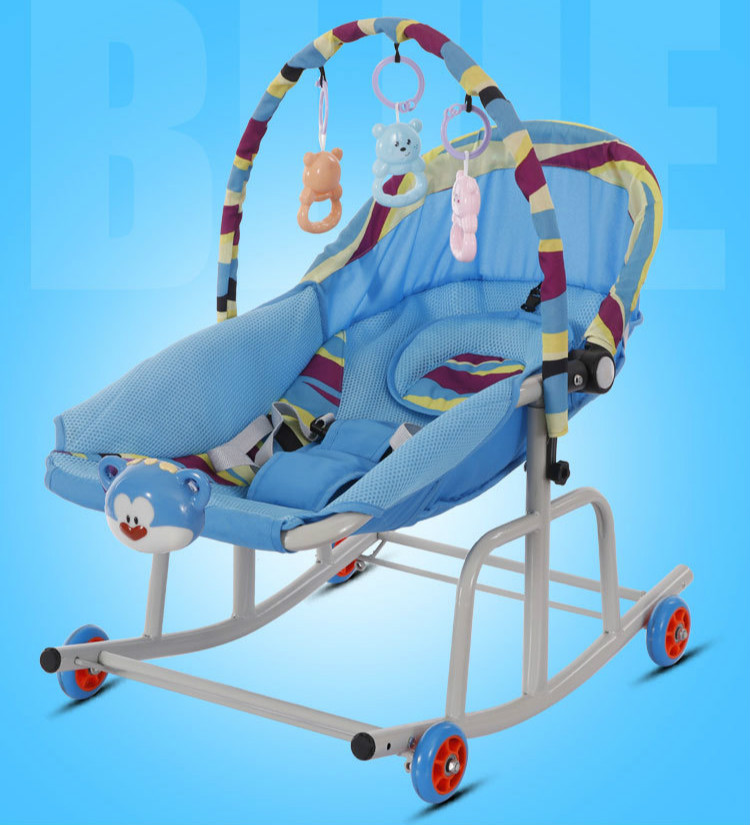H8bac4f2fbab34916aacb3062e4d070bd0 Baby  Rocking Chair Music Nursery Child Toy Rocking Chair Baby Rocking Horse Infant Seat Bouncer Swing Cradle Recliner Bouncer