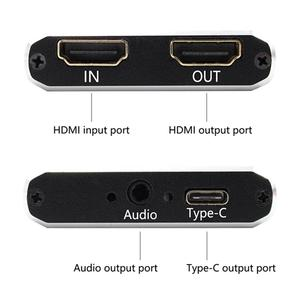 Image 4 - USB 3.0 Video capture HDMI to USB Type C 1080P HD Video capture Card for PS4 PC Game Live Streaming