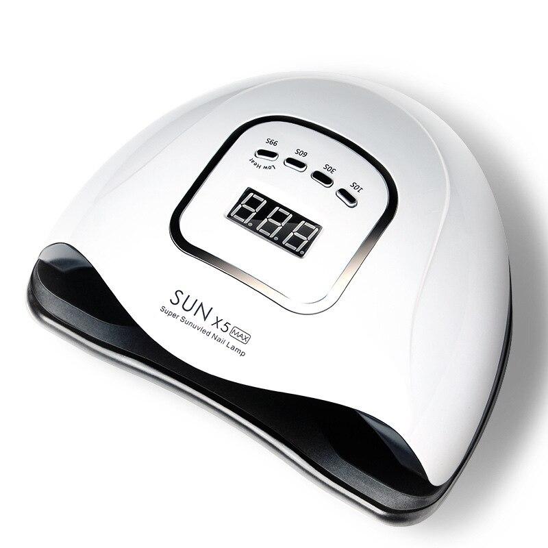 SUNX5 Max 220 Вт Светодиодная лампа для сушки ногтей 45/36 светодиодов УФ лед лампа для сушки Гель-лак 10/30/60/99s таймер автоматического Сенсор маникюр...