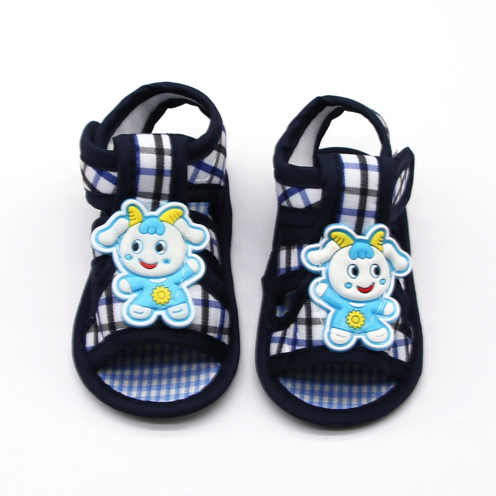2019 Fashion Summer Newborn Baby The Fashion Walker Cartoon Animal  Casual Shoes Canvas Baby  First Walkers