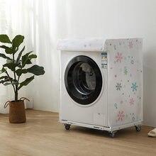 Hause Waschmaschine Lagerung Organizer Staub Abdeckungen Washer Deckel Appliance Wasserdichte Protector Mantel Fall Organisation Zubehör