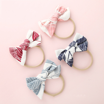 Colorful Bow Baby Girls Kids Headbands Turban Newborn Hairband Baby Headband Bow Girls Hair Bands Hair Accessories Baby Gifts diy girls grosgrain ribbon bow headband kids head bands headdress big bowknot ties headwrap hair accessories newborn baby turban
