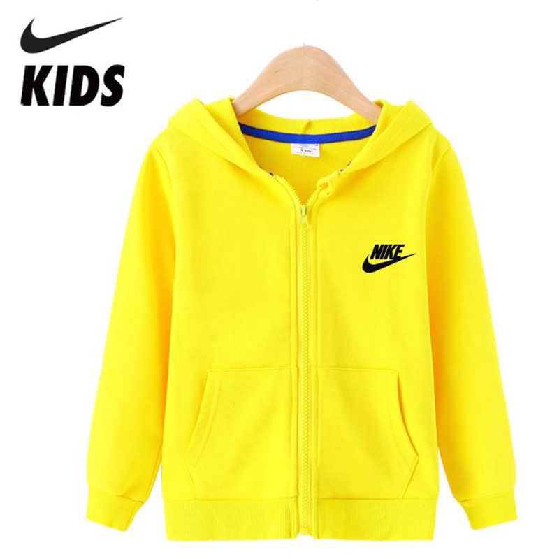Nike Kids Sports Cotton Hoodies Children Soft Running Shirts Infant Outfit