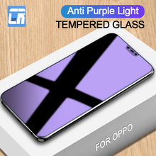 Anti Purple Light Full Tempered Glass for OPPO K1 A7X A59S A79 A83 A77 A57 Screen Protector Film for OPPO R7S R9S Plus Glass цена и фото