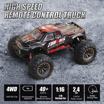 RC Car 40KM/H High Speed Racing Remote Control Car Truck for Adults 4WD Off Road Monster Trucks Climbing Vehicle Christmas Gift 6