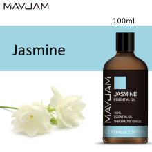 AYJAM Jasmine Diffuser Aroma Oil 100ML Pure Natural Essential Oils Aromatherapy Diffusers Soothes Emotions