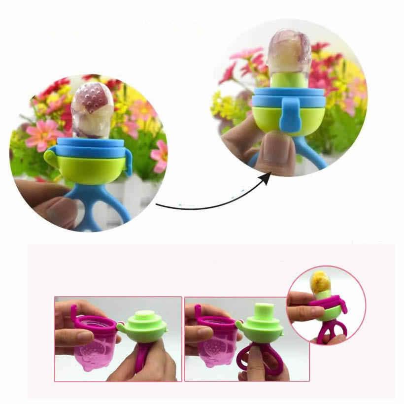ซิลิโคนอาหารถ้วยเด็กจุกนมอาหาร Nibbler Feeder เด็กถ้วยให้อาหารปลอดภัยอุปกรณ์ sootherTeat ขวด Pacifier
