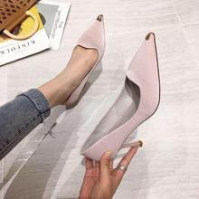 2019 autumn new womens shoes black apricot high-heeled platform designer women luxury Zapatos Mujer