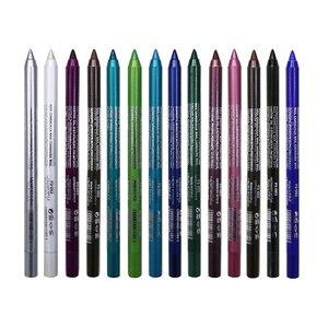 1 Pc Long-lasting Eyeliner Pencil Waterproof 14 Colors Eyeliner Eyeshadow Pen Cosmetic Makeup Tools Dropshipping TSLM2(China)