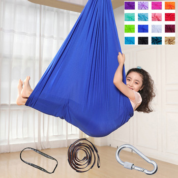 цена на Swing Pod Outdoor Home Hammocks Chair Indoor Hanging Seat 19 colors качели садовые уличные гамак качели Wholesale Z4 2020 new