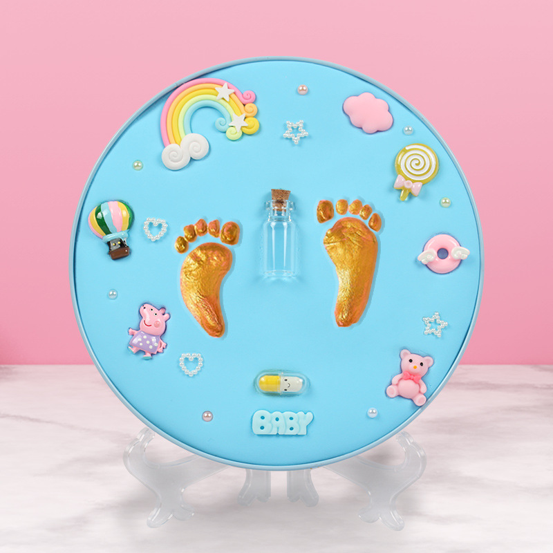 Top SaleCasting-Toys Clay Print-Pad Hand-Foot-Imprint-Kit Newborn-Souvenir Baby-Items Babies