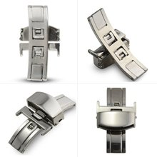 купить 16/18/20mm 1 Piece Stainless Steel Deployment Clasp Buckle For Watch Band Strap New Z по цене 71.64 рублей