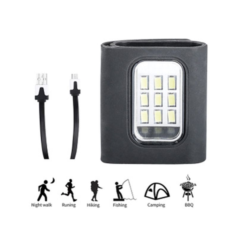USB Charging Light Running Light Small Portable LED Multi-Function Running Warning Night Light