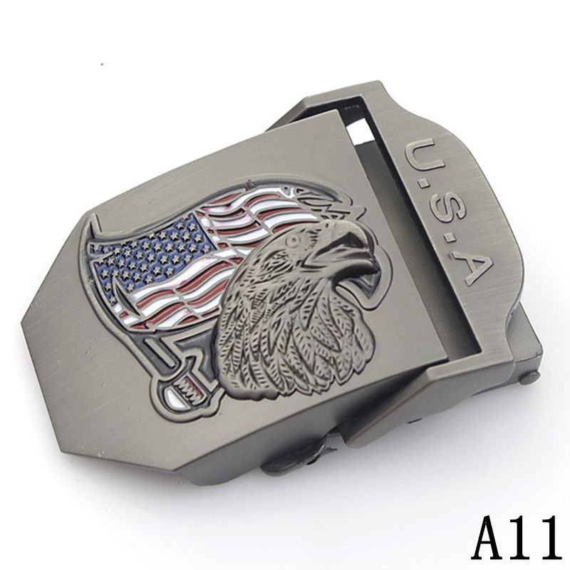 Canvas Belt Buckle For Men Automatic Strap Suitable Military Tactical Body Width 3.8cm Waist Tape Buckle Accessories 25 Style