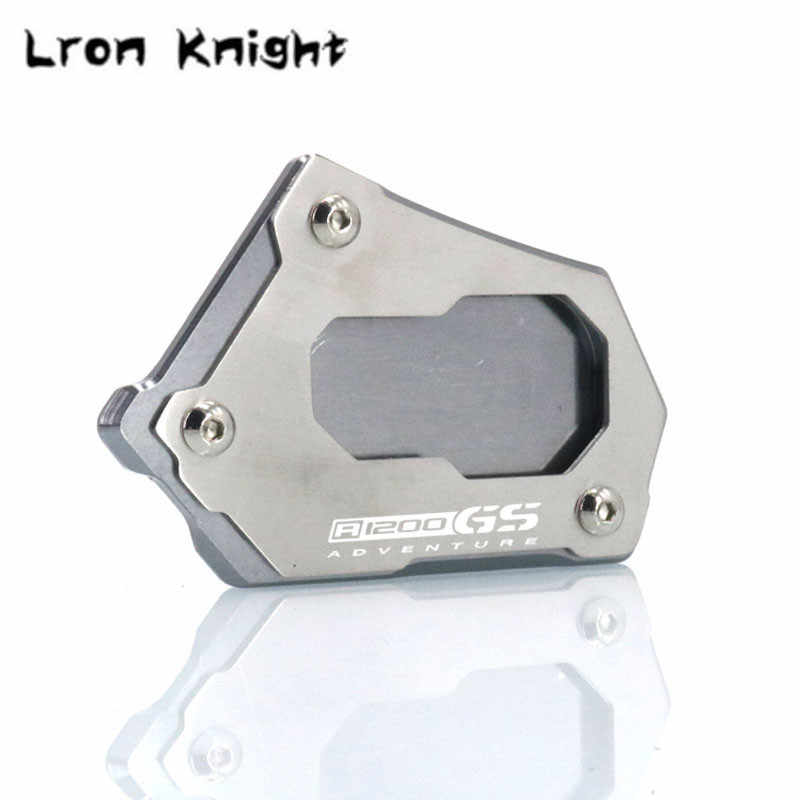 Voor BMW R1200GS LC R1200 GS LC ADV Adventure 2013-2019 R1200GS Rallye 2016-2019 CNC Kickstand Side kick Stand Pad Plaat Base