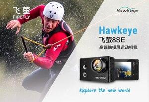 Экшн-камера Hawkeye Firefly 8SE, в наличии, с сенсорным экраном, 4K, 30fps, 170 градусов, супер-вид, Bluetooth, FPV, Спортивная Экшн-камера