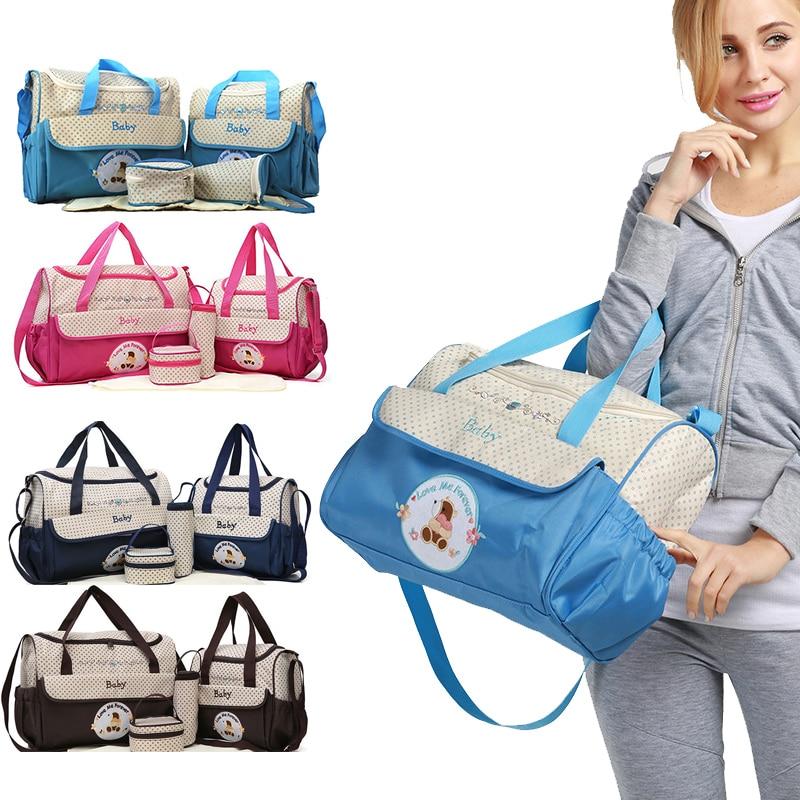 Multifunction Baby Nappy Diaper Bag Baby Bag Nursing Stroller Fashion Maternity Zipper Handbag One Shoulder Bag For Mother Mummy