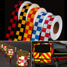Stickers Decoration Reflective-Tape Safety-Film Car-Warning 5cmx10m/Roll
