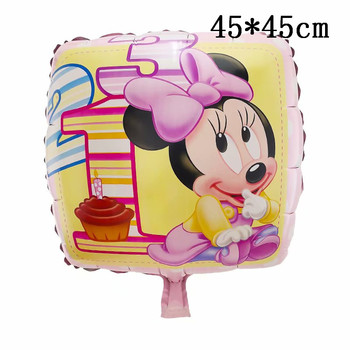 Giant Mickey Minnie Mouse Balloons Disney cartoon Foil Balloon Baby Shower Birthday Party Decorations Kids Classic Toys Gifts 32