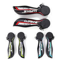 WAKE 1 Pair Mountain Bicycle Barend Handlebar MTB Bar End Wear-resistant Handlebar Cover Handle Cycling Accessories