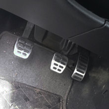 Color My Life Stainless Steel Gas Brake Pedal MT/AT Pedals Cover for Seat Ibiza 6K 6L 6J Arosa Cordoba 6K 6L Leon Toledo 1M