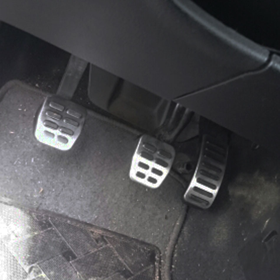 Colore La Mia Vita A Gas In Acciaio Inox Pedale del Freno MT/AT Pedali Copertura per Seat Ibiza 6K 6L 6J arosa Cordoba 6K 6L Leon Toledo 1M
