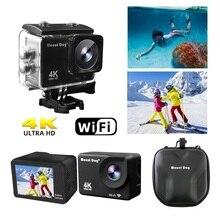 MountDog Action Camera Ultra HD 4 K WiFi Remote Control Sports Video Cam Recorder DVR DV Waterproof Go Pro Camera accessories цена и фото
