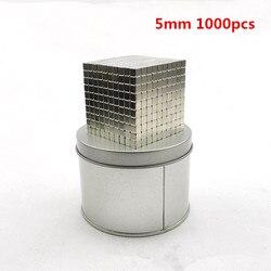 512 Pcs 1000 Pcs 3 Mm 5 Mm Magic Magnet Blokken Magnetische Ballen Neo Kubus Metalen Doos Pakket