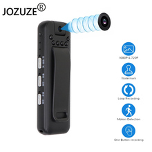 JOZUZE kamera noszona na ciele Mini cyfrowa kamera HD Micro Cam Night Vision Motion migawka latarka nagrywania w pętlę kamera wideo