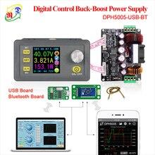 RD DPH5005 понижающий преобразователь постоянного напряжения тока программируемый цифровой контроль питания цветной ЖК-вольтметр 50 в 5A