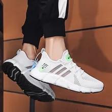 Running-Shoes Sneakers Zapatos-De-Hombre Black Walking White Plus-Size Men's Lightweight