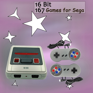 Image 1 - 16 Bit Retro Mini Video Game Console 167 Classic Games TV AV out For MD Sega SG 167 Family Handheld Game Player Child Gift Hot