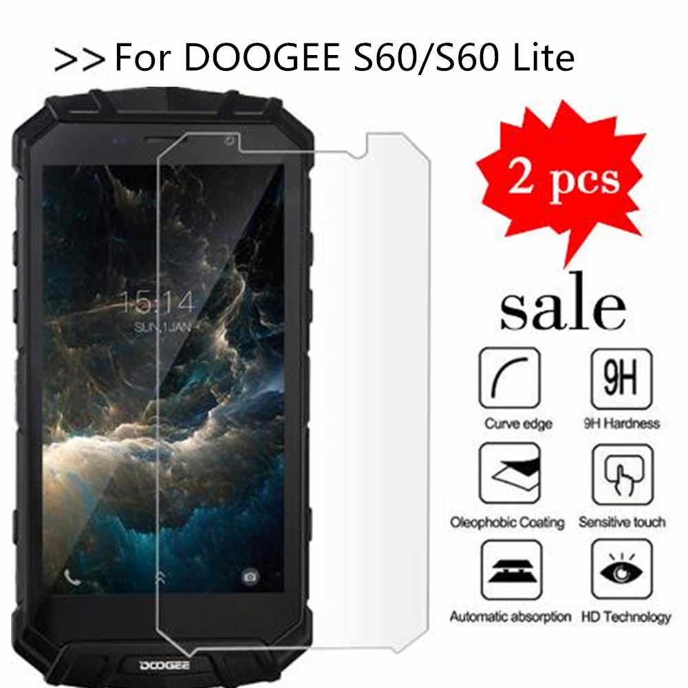 For DOOGEE S60 Tempered Glass Original 9H High Quality Protective Film Explosion-proof Screen Protector For DOOGEE S60 Lite