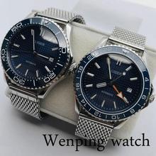 41mm BLIGER Top Casual Business Mechanical Watch Sapphire Cr