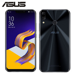 Перейти на Алиэкспресс и купить original new asus zenfone 5 ze620kl mobile phone 4gb ram 64gb rom 6.2дюйм. snapdragon 636 octa core 12mp+8mp nfc fm 4g smartphone