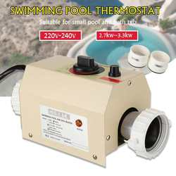220V-240V Water Zwembad & Spa Hot Tub Bad Heater Thermostaat Verwarming Hot Bad Elektrische Kachel outdoor Spa Zwembad Kachels