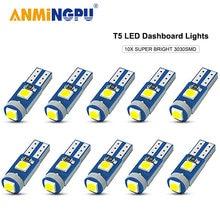 Anmingpu 10x сигнальная лампа t5 led 12 В w3w w12w светодиодная