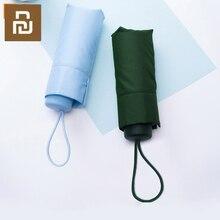 Parapluie ensoleillé pluvieux Ultra léger de Fiber de marque dumbracelet la parapluie fortement coupe vent parapluie portatif Ultra petit